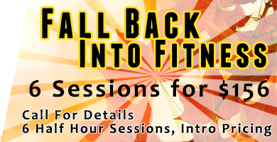 Fall Training 6 Sessions for $146